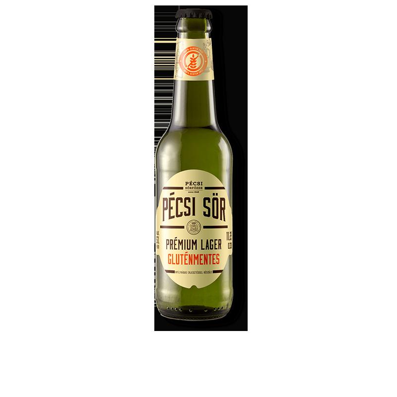 Bio Pécsi Prémium Lager Gluténmentes sör üveges