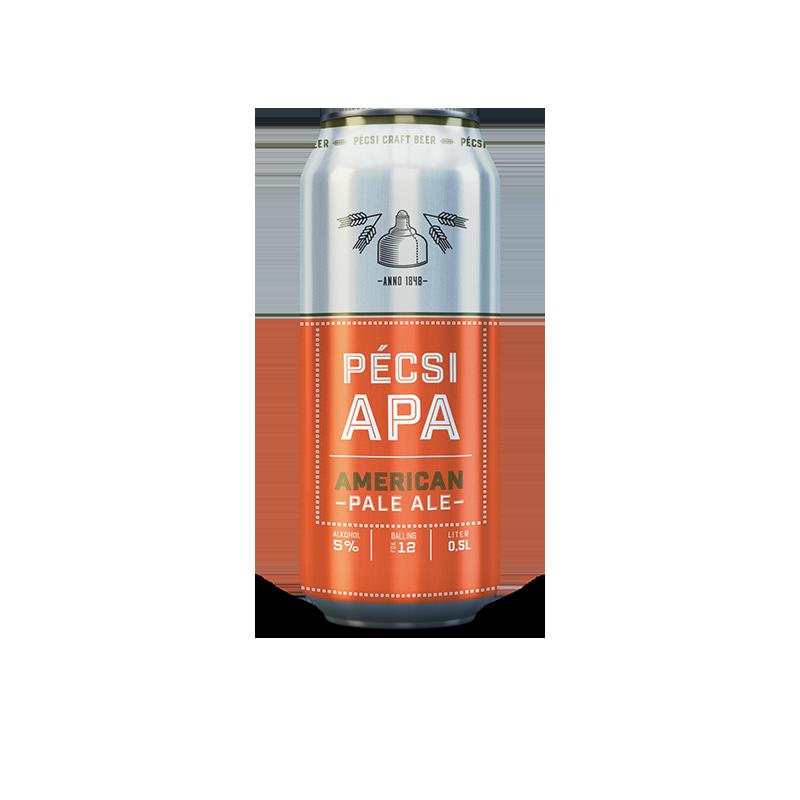Pécsi Craft APA dobozos sör