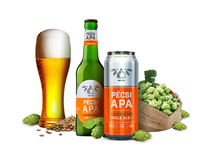 Pécsi Craft APA sörök