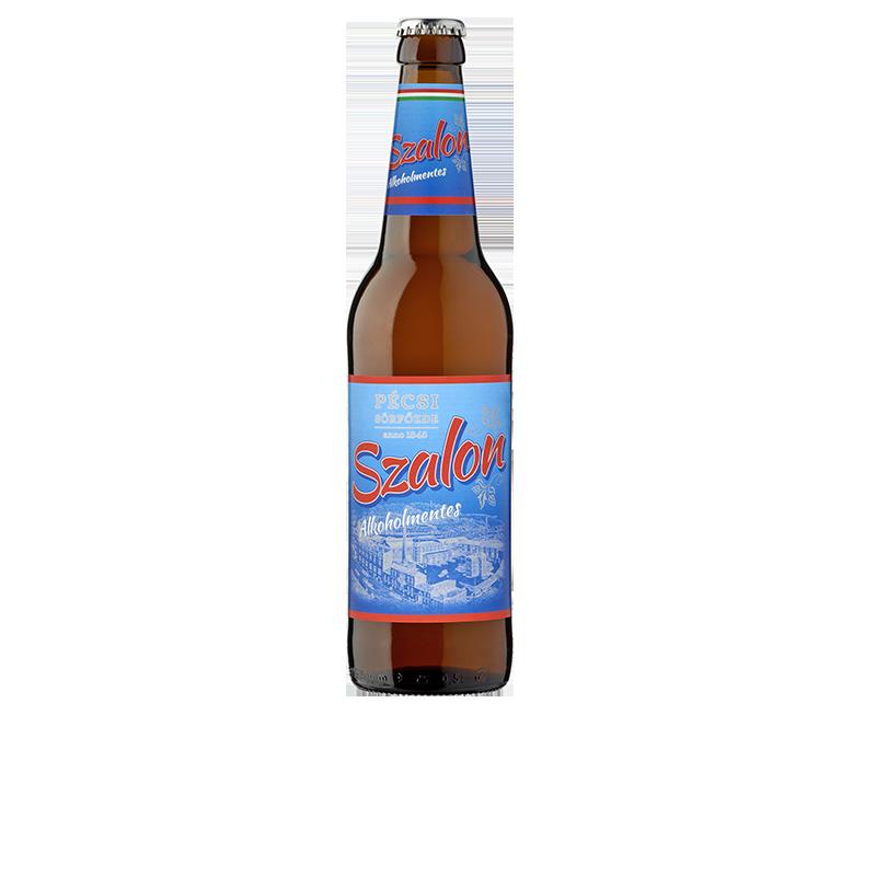 Pécsi Szalon Világos Alkoholmentes sör üveges