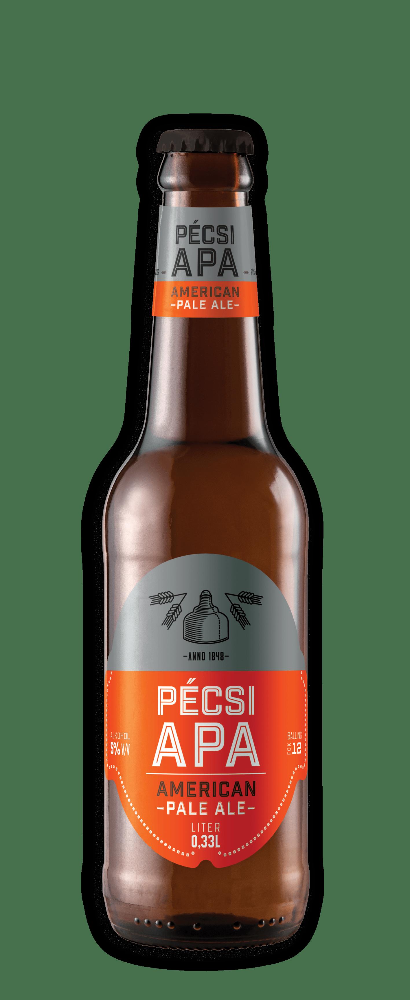 Pécsi Craft APA üveges sör