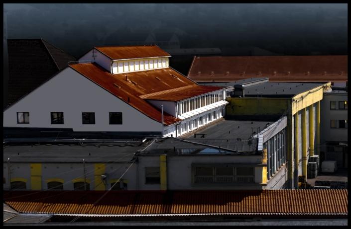 sörgyár épülete